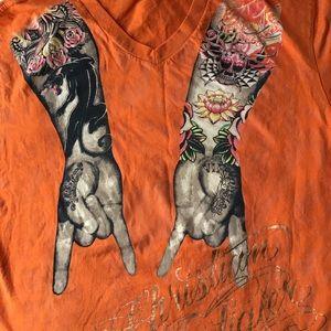 Christian Audigier Tattoo T-shirt